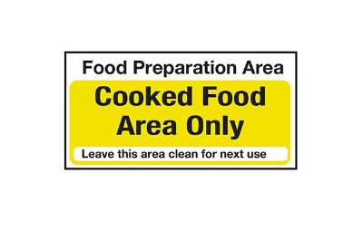 Food Storage Signs