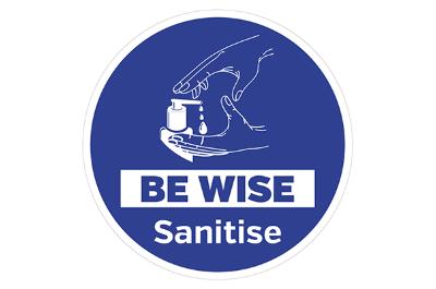 Hand Sanitiser Signs