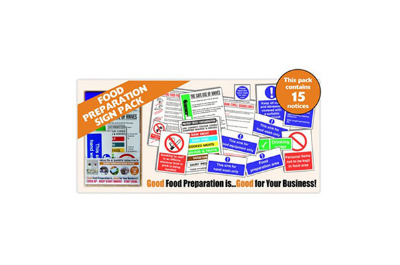 H and S Kitchen Sign Packs
